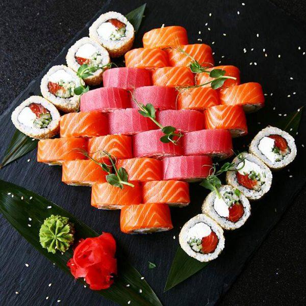 морський сет суши ом ном ном